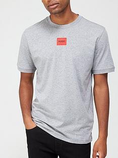 hugo-diragolino-red-patch-logo-t-shirt-silver