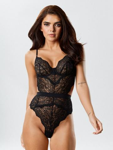Sizes S Pale Pink Ann Summers The Tease Body L