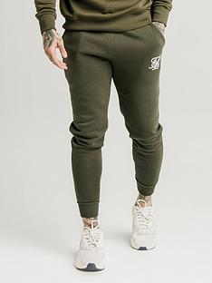 sik-silk-muscle-fit-jogger-khaki