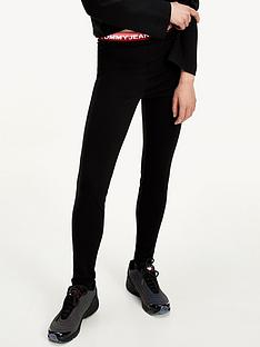tommy-jeans-branded-waistband-legging-black
