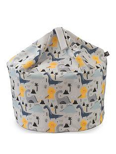 rucomfy-dinosaur-island-medium-kids-beanbag