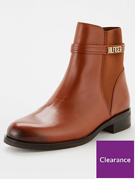tommy-hilfiger-block-branding-flat-boot-brown