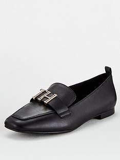 tommy-hilfiger-polished-tommy-loafers-black