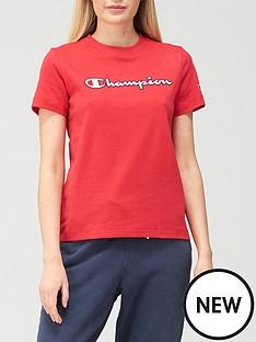 champion-crew-neck-t-shirt-red
