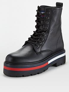 tommy-hilfiger-flag-outsole-lace-up-boots-black