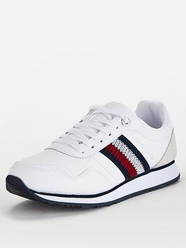 tommy-hilfiger-leather-low-runner-trainers-white