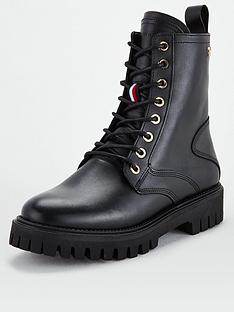 tommy-hilfiger-shaded-leather-biker-boots-black