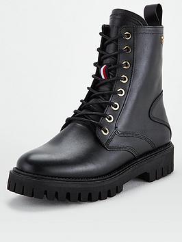 tommy-hilfiger-shaded-leather-biker-boots-black