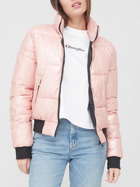champion-paddednbspjacket-pink