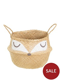sass-belle-woodland-fox-basket