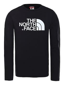 the-north-face-easy-long-sleeve-t-shirt-blackwhite