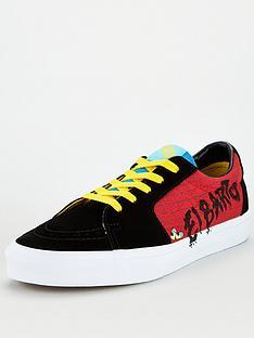 vans-x-the-simpsons-ua-sk8-low-shoe-blackpurple