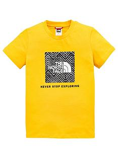 the-north-face-childrensnbspbox-short-sleeve-t-shirt-gold