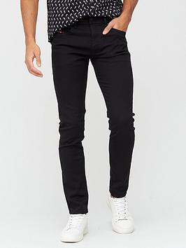 diesel-thommer-x-mid-rise-slim-skinny-fit-jean-black