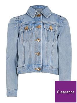 river-island-girls-puff-sleeve-denim-jacket-blue