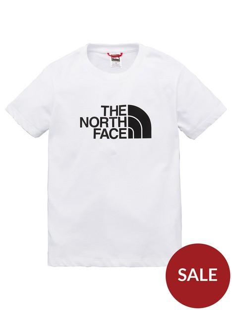 the-north-face-short-sleeve-easy-t-shirt-whiteblack