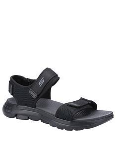 skechers-gowalk-5-velcro-sandals-black