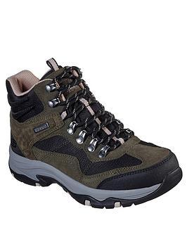 skechers-trego-walking-lace-up-ankle-boot-oliveblack