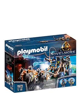 playmobil-playmobil-70225-novelmore-knights-wolf-team-with-firing-water-cannon