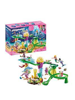 playmobil-playmobil-70094-magic-mermaids-coral-marble-run-with-illuminated-dome