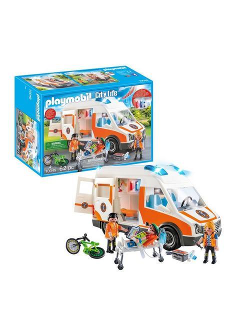 playmobil-70049-city-life-hospital-ambulance-with-lights-and-sound