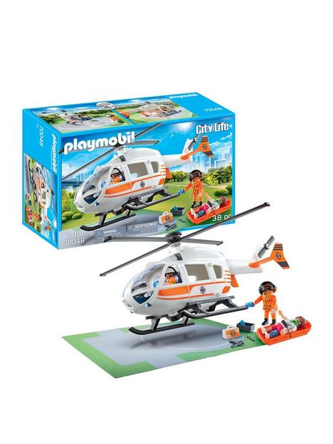 playmobil-70048-city-life-hospital-emergency-helicopter-with-landing-pad