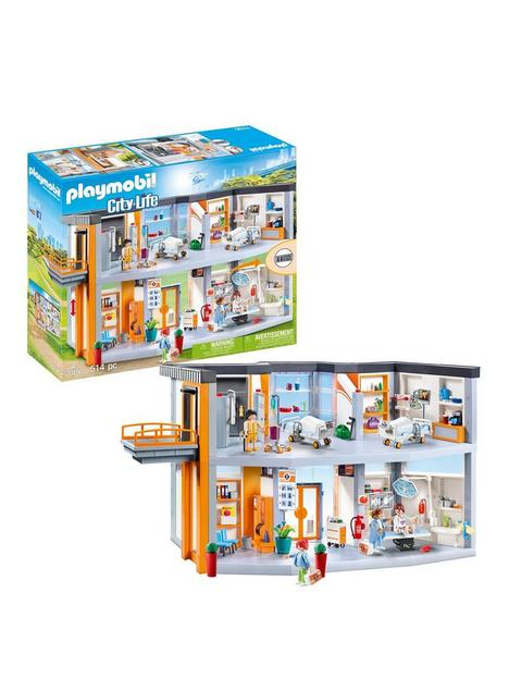 playmobil-playmobil-70190-city-life-large-furnished-hospital-with-lift