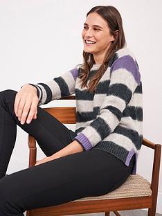 white-stuff-fluid-stripe-jumper-grey