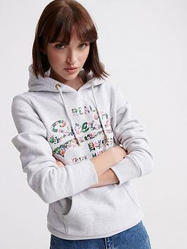 superdry-vintage-logo-gloss-floral-hoodie-light-grey