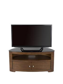 Product photograph showing Avf Blenheim Affinity Curved Combi 100 Cm Tv Stand - Fits Up To 55 Inch Tv