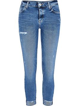 ri-petite-petitenbspmid-rise-amelie-ripped-knee-skinny-jean-blue
