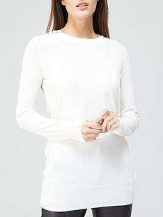 v-by-very-eyelet-shoulder-detail-tunic-whitenbsp