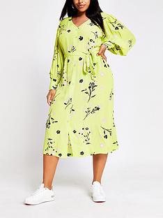 ri-plus-printed-midi-dress-lime-print