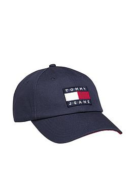 tommy-jeans-heritage-logo-baseball-cap-navynbsp