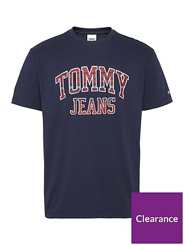 tommy-jeans-tjm-plaid-collegiate-t-shirt-navynbsp