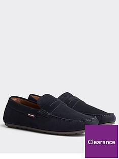 tommy-hilfiger-classic-suede-driver-loafers-navynbsp