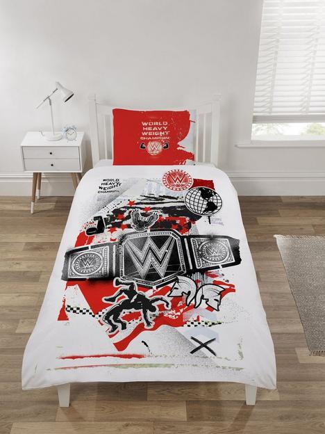 wwe-world-heavyweight-champion-single-duvet-cover-set