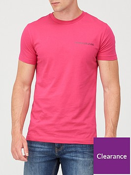 calvin-klein-jeans-institutional-chest-logo-t-shirt-pink