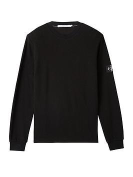 calvin-klein-jeans-calvin-klein-jeans-waffle-long-sleeve-t-shirt