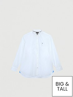 tommy-hilfiger-stretch-poplin-shirt-white