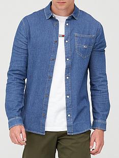 tommy-jeans-tjm-stretch-denim-shirt-denim-blue