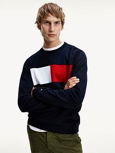 tommy-hilfiger-flag-logo-sweatshirt