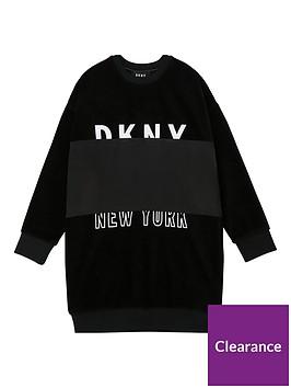 dkny-girls-corduroy-logo-sweat-dress