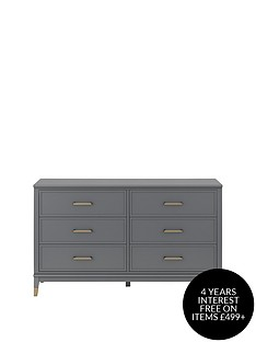 cosmoliving-by-cosmopolitan-westerleigh-6-drawer-chest-graphite-grey
