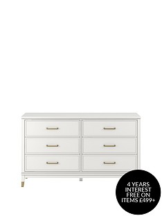 cosmoliving-by-cosmopolitan-westerleigh-6-drawer-dressing-table-white
