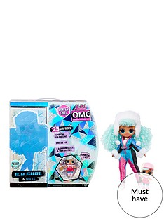 lol-surprise-omg-winter-chill-icy-gurl-fashion-doll-amp-brrr-bb-doll-with-25-surprises