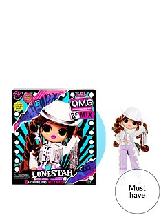 lol-surprise-omg-remix-lonestar-fashion-doll-ndash-25-surprises-with-music