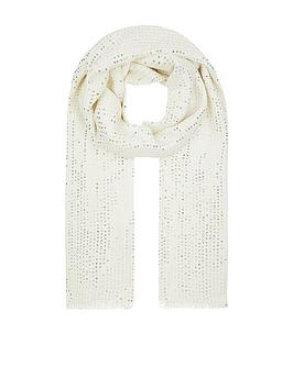 monsoon-sequin-viscose-occasion-scarf-ivory