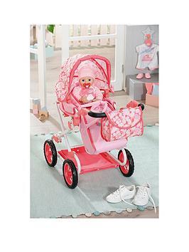 baby-annabell-deluxe-pram