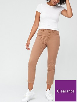 levis-724-high-rise-straight-crop-utility-jeans-beige